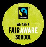 We are a Fair Aware School Icon